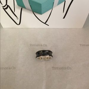 Tiffany & Co. Titanium Wide Band Ring